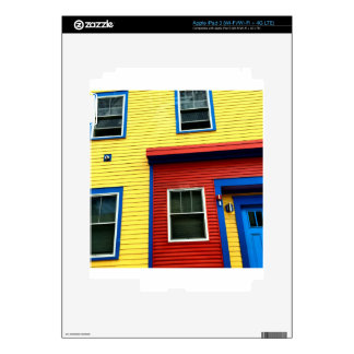 Bright & Fun Houses Skins For iPad 3