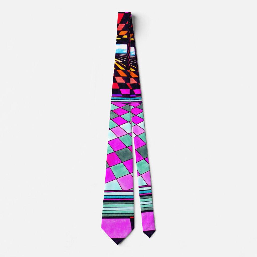 Bright Fun Pop Art Neck Tie