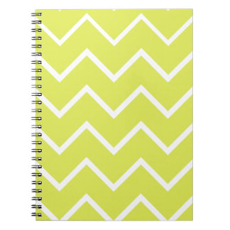 Bright & Funky Chevron Collection Spiral Notebooks