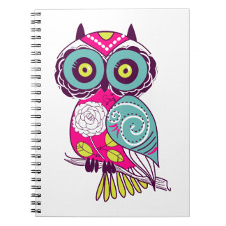 Bright & Funky Chevron Collection Notebook