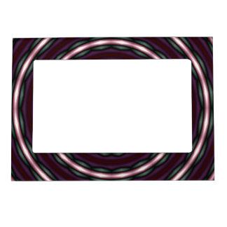 Bright, Funky Spiral Circles Photo Frame