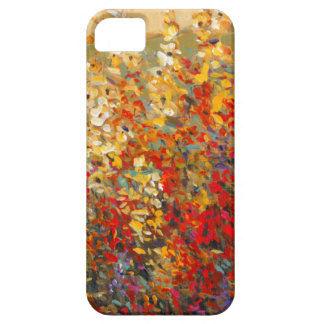 Bright Garden Mural of Spring Wildflowers iPhone 5 Case