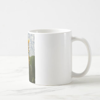 Bright Garden Summer Sunflower Blue Sky Coffee Mug