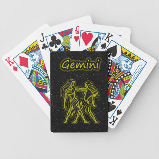 Bright Gemini Bicycle Playing Cards