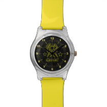 Bright Gemini Wrist Watch