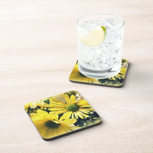 Bright Gems of Earth Cork Coasters (Set of 6)
