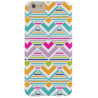 Bright Geometric Barely There iPhone 6 Plus Case