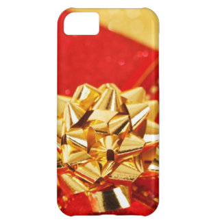 Bright Gift Wrapped Bow Look Christmas Present Case For iPhone 5C