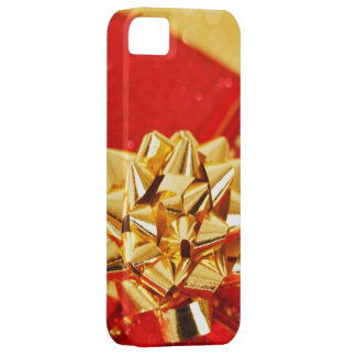 Bright Gift Wrapped Bow Look Christmas Present iPhone SE/5/5s Case
