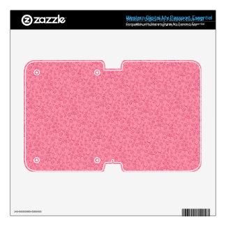 Bright Girly Pink Swirls Abstract Pattern WD My Passport Skin