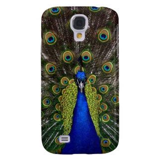 Bright girly pretty as a peacock bird photography samsung s4 case
