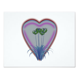 Bright Glowing Flowers Card
