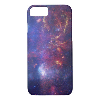 Bright Glowing Galaxy in Outer Space iPhone 8/7 Case