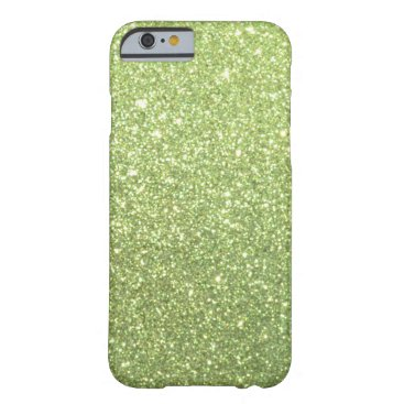 Beach Themed Bright Gold Glitter Sparkles Barely There iPhone 6 Case
