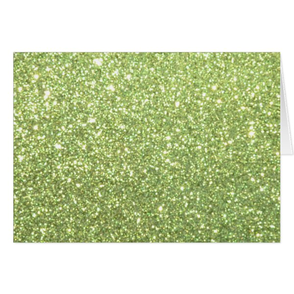 Bright Gold Glitter Sparkles Card
