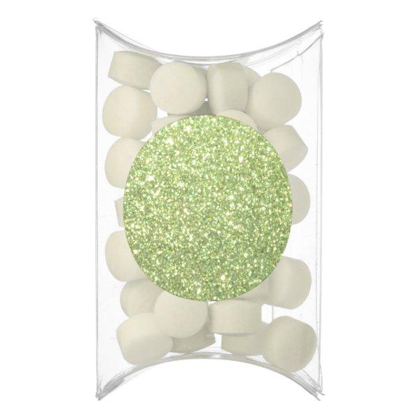 Bright Gold Glitter Sparkles Chewing Gum