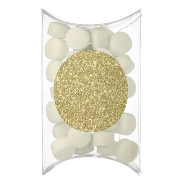 Beach Themed Bright Gold Glitter Sparkles Gum