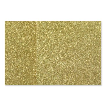 Beach Themed Bright Gold Glitter Sparkles Lawn Sign