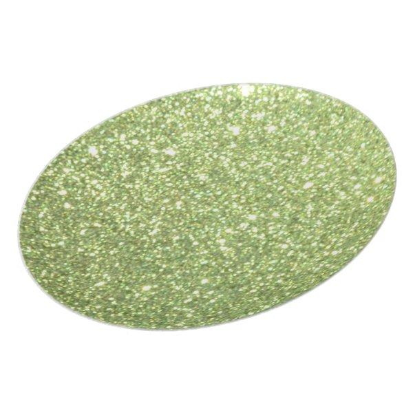 Bright Gold Glitter Sparkles Melamine Plate