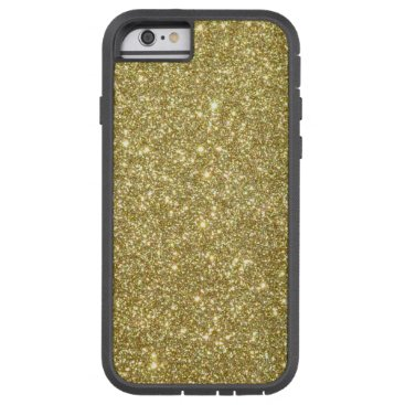 Beach Themed Bright Gold Glitter Sparkles Tough Xtreme iPhone 6 Case