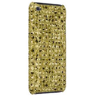 Bright Gold Sequin Effect Phone Cases iPod Touch Cases