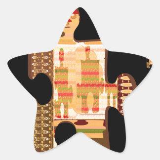 Bright Golden Sparkle QUIZ ART - Elegant GIFTS all Sticker