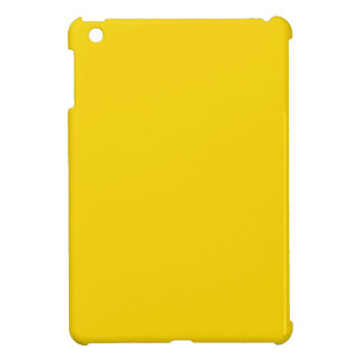 Bright Golden Yellow Color Only Custom Products iPad Mini Cover