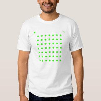 Bright Green 6pt Stars Shirt
