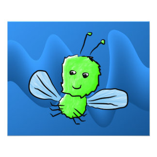 Bright Green Bug Flying Insect Flyer