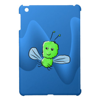Bright Green Bug Flying Insect Case For The iPad Mini