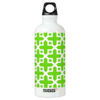 Bright Green Cross Section Pattern SIGG Traveler 0.6L Water Bottle