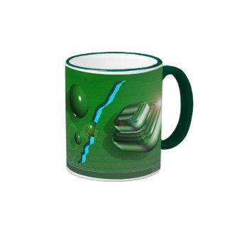 Bright Green Decorative Mug