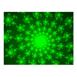 Bright Green Eye Postcard