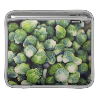 Bright Green Fresh Brussels Sprouts iPad Sleeves