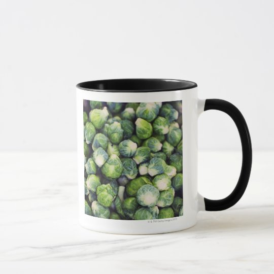 Bright Green Fresh Brussels Sprouts Mug