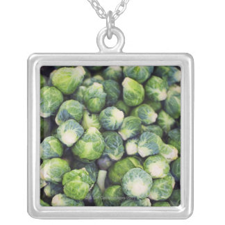 Bright Green Fresh Brussels Sprouts Jewelry
