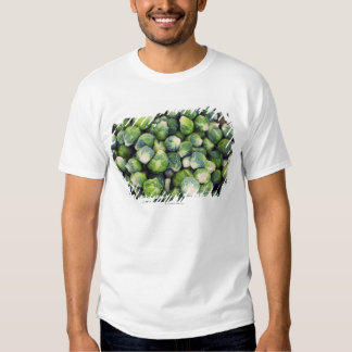 Bright Green Fresh Brussels Sprouts Tshirt