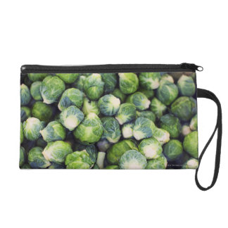 Bright Green Fresh Brussels Sprouts Wristlet Purse