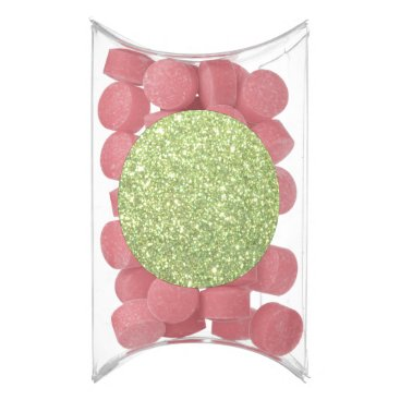 Beach Themed Bright Green Glitter Sparkles Gum