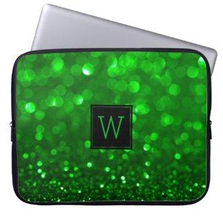 Bright Green Glitter & Sparkles