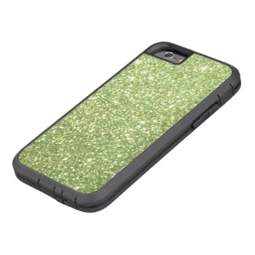 Beach Themed Bright Green Glitter Sparkles Tough Xtreme iPhone 6 Case