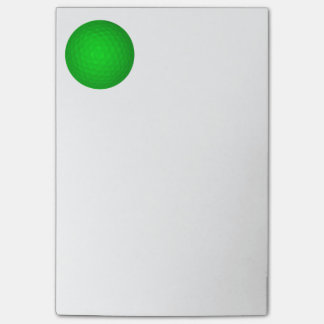 Bright Green Golf Ball Post-it® Notes