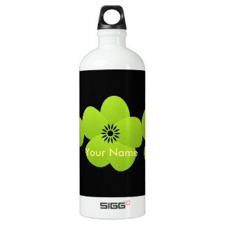 Bright Green Holiday Season Flower SIGG Traveler 1.0L Water Bottle