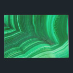 "Bright green Malachite Mineral Placemat<br><div class=""desc"">Close up of a bright green Malachite 