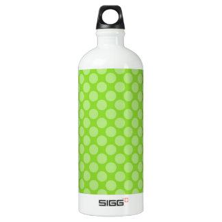 Bright Green Polka Dots SIGG Traveler 1.0L Water Bottle