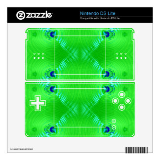 Bright green ripple 4 skins for the DS lite