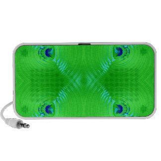 Bright green ripple 4 mini speaker