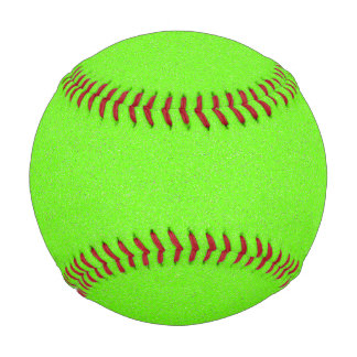 Bright Green Star Dust Baseball