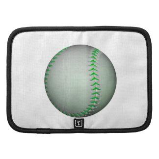 Bright Green Stitches Baseball Organizer