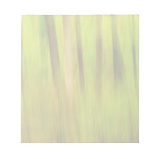 Bright Green Summer Abstract Note Pad